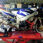 Suzuki 2002 GSX-R750 – Workshop 20210314 Fluids and and Brakes